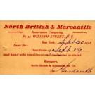 Advert Insurance Service Pioneer 1879