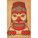 Seattle Indian Potlach 1912 Masked Beast