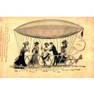 Ladies Getting In Dirigible French Poem
