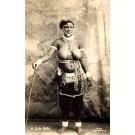 Black Zulu Nude Girl Real Photo