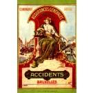 Insurance Auto Horse-Drawn Wagon Train Crash