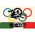 Runner Mexico Olympics 1968 Novelty