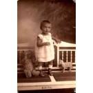 Standing Baby Girl by Teddy Bear RP