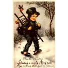 Going to Work Chimney Sweep New Year
