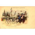 Belgian King Steering the Carriot Novelty