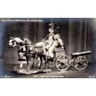 German Prince Wilhelm Sitting on Cannon RP