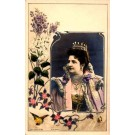 Italian Queen Mother Real Photo