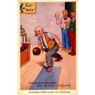Men Watching Bowling