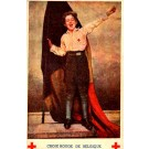 Belgian Red Cross Boy with the Flag