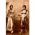Egyptian Dancers Real Photo