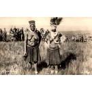 African Zulu Bride Real Photo
