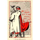Kaiser Wilhelm Bat WWI Satire French