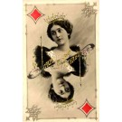 Queen Of Diamond Real Photo