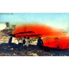 Hawaii Kilauea Volcano Tourists RPPC