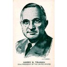 Truman Advert Presidential Cards