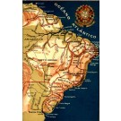Brazil Map Atlantic Ocean