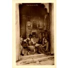 Indian Silversmith Real Photo