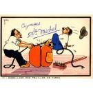 Advert Cigarettes Michel Comic French