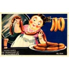 Advert Olida Sausages French