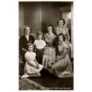 Swedish Princess Family Real Photo