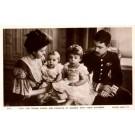 Swedish Crown Price Family Real Photo British