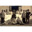 Nurses Soldiers WW1 Real Photo