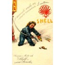 Advert Shell Gasoline Italian