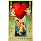 Cupids Air Balloon Novelty Squeaker
