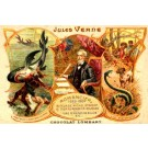 Advert Chocolate Jules Verne Diver
