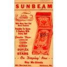 Advert Sunbeam Pinball Machine MD