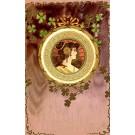 Lady Clover Art Nouveau