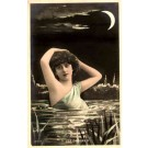 Mermaid Moon Hand-Tinted RP French