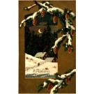 Christmas HTL Pine Cones Mailick