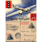 Netherlands Airplane 1933 Used