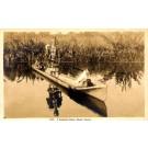 Indian Canoe Dog Real Photo FL