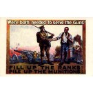 WWI Military Cannon Poster