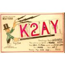Magician Cook Radio QSL RP NYC