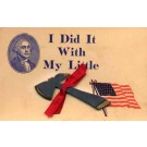 President Washington Ax Novelty PA