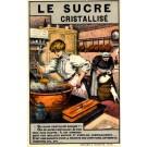 Advert Sugar Dog French Art Nouveau