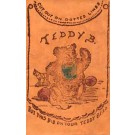 Teddy Bear Bib Leather Novelty