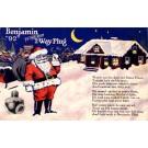 Santa Claus Advert Benjamin Plug PA