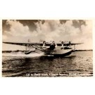 Pan Am Clipper Aviation Real Photo FL