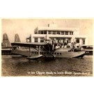 Pan Am Clipper Aviation Real Photo FL