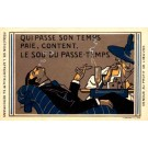 Pipe Wine Glass Playing Cards French
