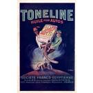 Auto Race & Advert Toneline Oil