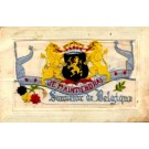 Embroidered Silk Lions WWI