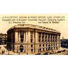 Los Angeles Post Office Advert RP CA
