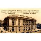 Los Angeles Post Office Advert RP CA
