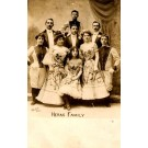 Heras Family Circus Real Photo French