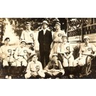 Baseball Players Team Real Photo